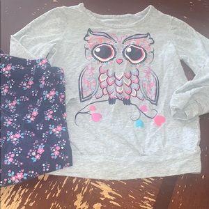Owl matching set